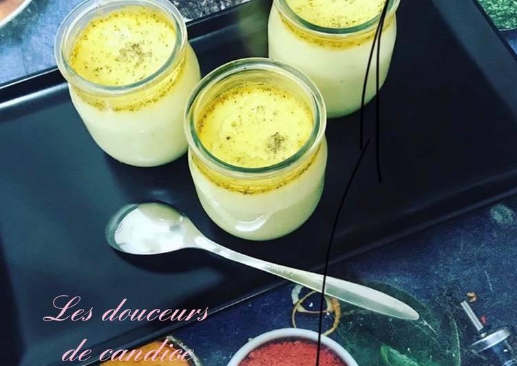 Recette De Crème aux œufs a la vanille