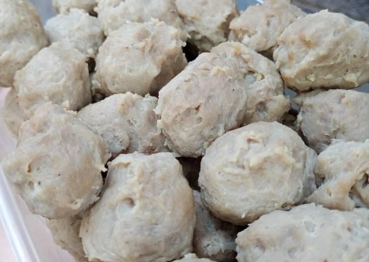 Resep Baso Sapi Homemade yang Enak
