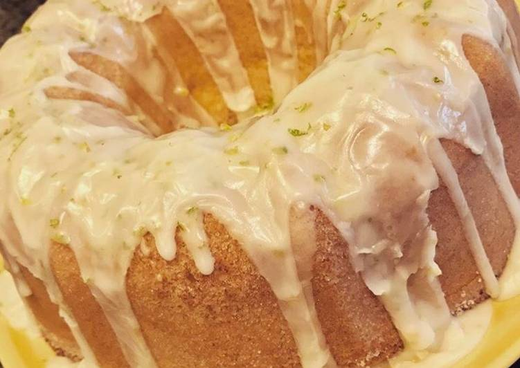Lemon Lime Pound Cake