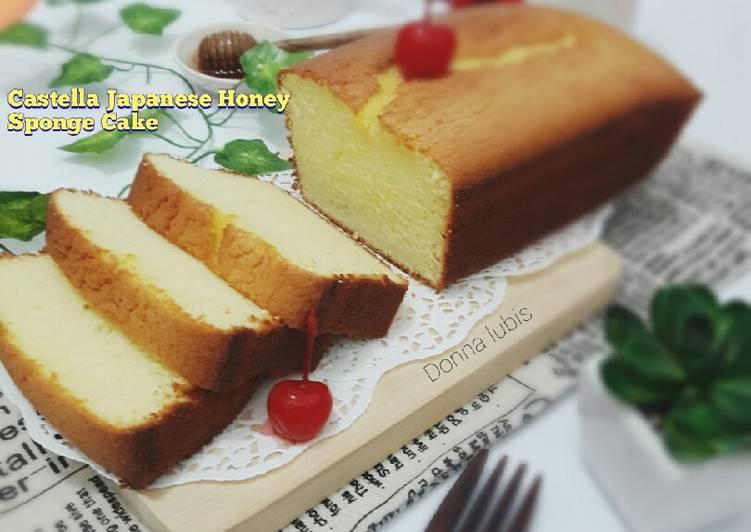 Castella Tradisional Japanese Honey Sponge Cake