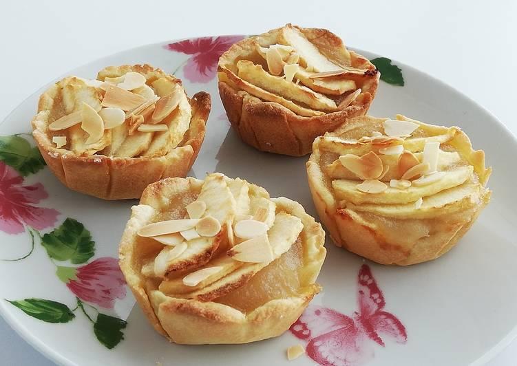 Comment Préparer Les Tartelette aux pommes