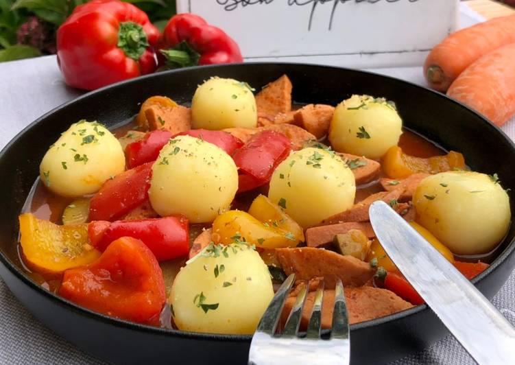 Würstchen-Gulasch