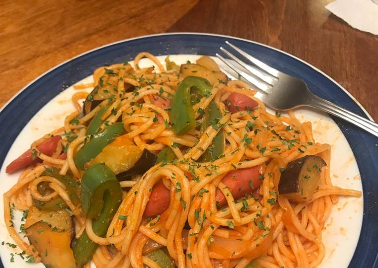 Discover How to Improve Your Mood with Food Rina's Spaghetti Napolitano style