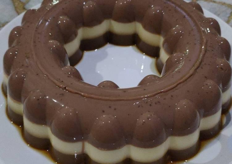 03. Pudding Coklat Kopi Susu