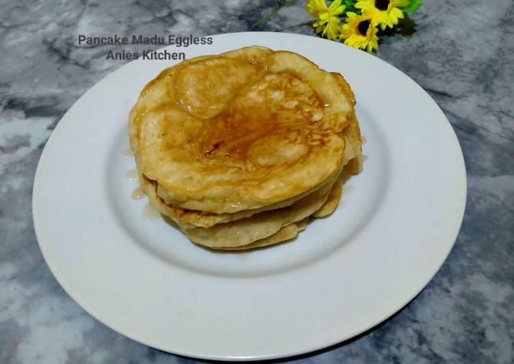 Pancake Madu Eggless