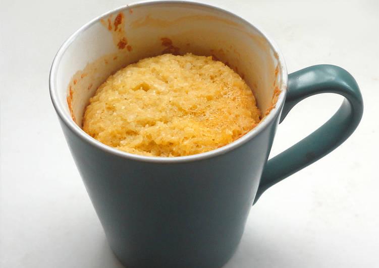 Mug Cake Bizcocho De Taza De Coco Sin Gluten Sin Lactosa