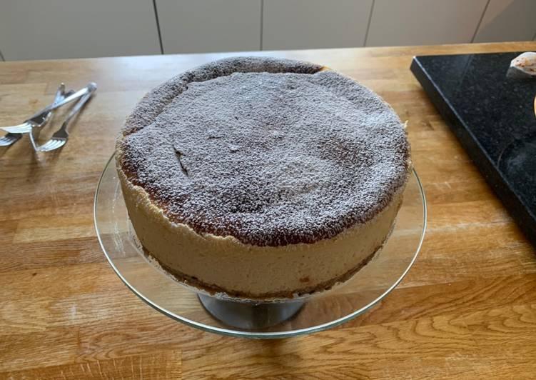 Recipe of Most Popular Bake New York cheese cake