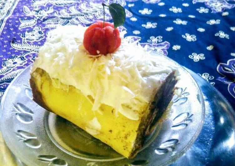 Resep Roll Cake Kukus Irit, Lezat Sekali