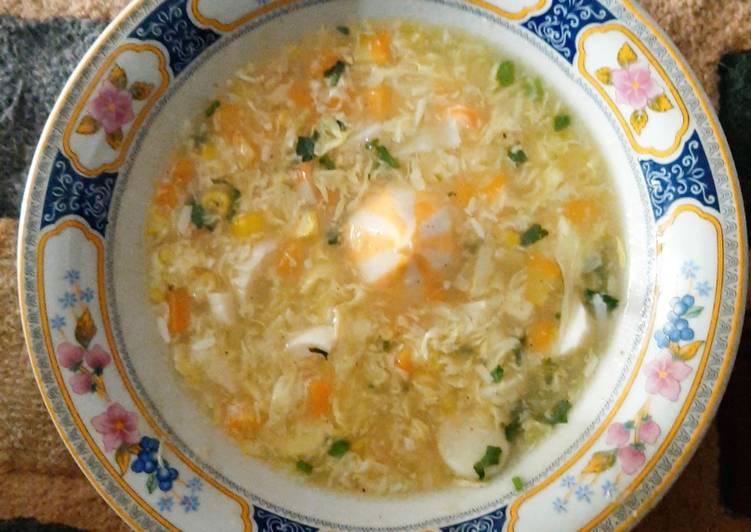 Sup Krim Kepiting & Jagung Royco