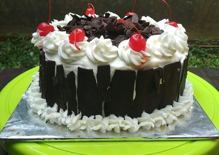 MANTAP # Resep: Blackforest Cake Kukus yang spesial