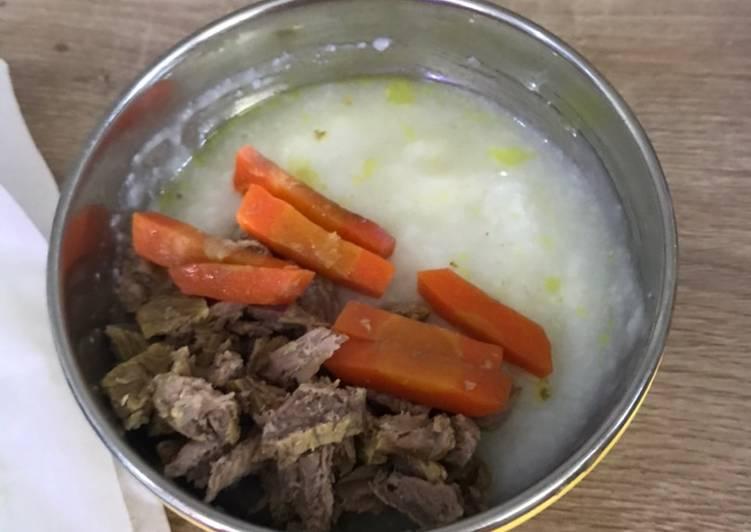Mpasi 6m Day 5 Soto daging