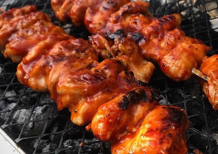 Korean Style BBQ Chicken Thighs 🔥🔥🔥