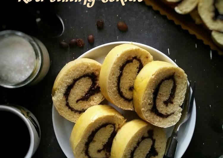 Roti Gulung Coklat (lembut, tanpa telur, tanpa ulen)