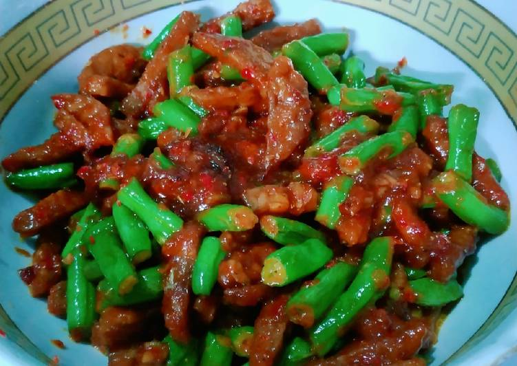 Tempe sayur buncis