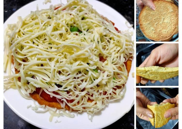 Street style Italian pizza