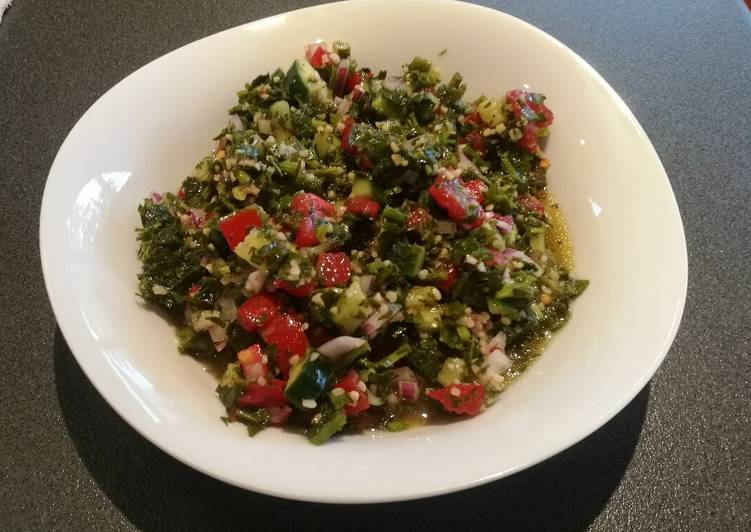 25 Minute Simple Way to Prepare Autumn Easy Tabouleh (Side Dish)
