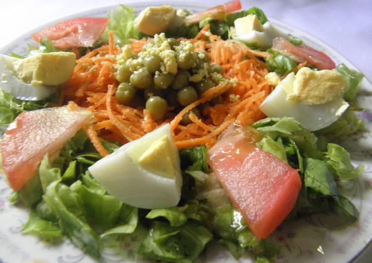 recetas de ensaladas de legumbres y verduras