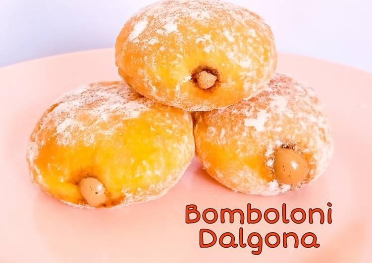 Bomboloni Dalgona