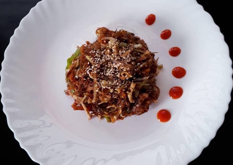 Chapathi Egg Noodles
