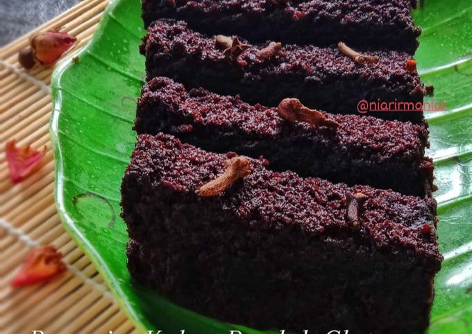 Brownies Kukus Rendah Gluten