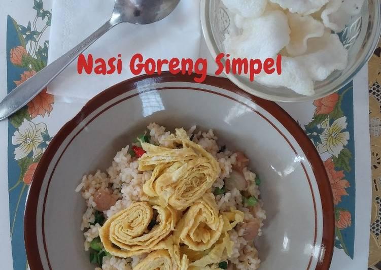 Resep Nasi Goreng Simpel Paling Enak
