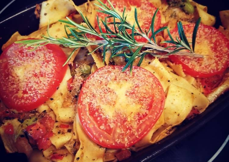 Top 9 Meilleures Recettes de Pappardelles au brocoli et tomates en cassolette