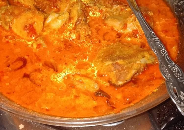 resep masakan ayam kuah santan resep manis masakan indonesia Resepi Daging Kari Santan Enak dan Mudah