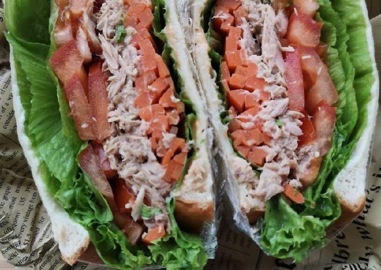 Cara Mudah Masak: Sandwich Wanpaku Deena  Sempena PKP