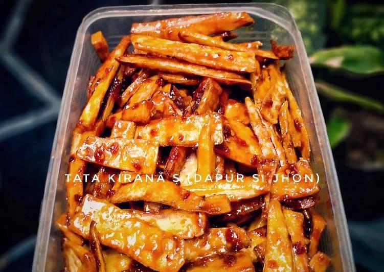 Balung Kethek / Manggleng asam manis pedes Camilan Khas Solo