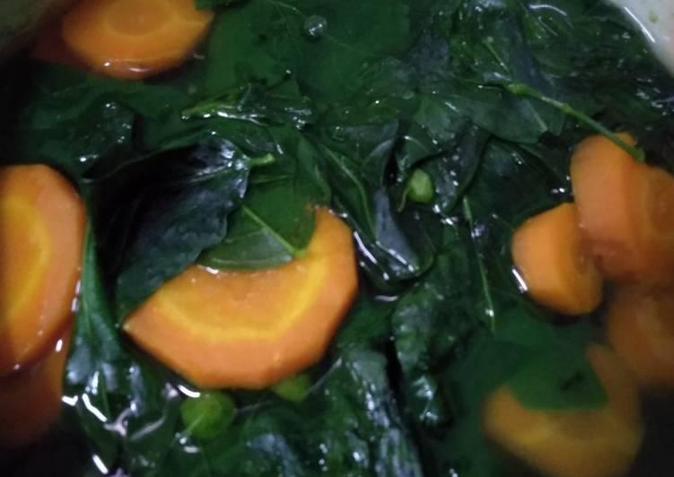Resep Sayur bening katuk wortel Yang Gampang Pasti Ngiler