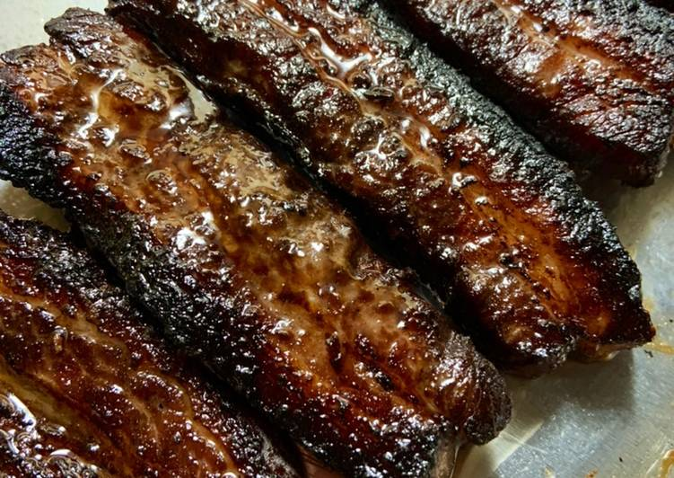Asian inspired Pork Belly