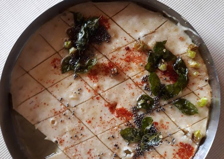 Recipe of Ultimate Moong dal dhokla