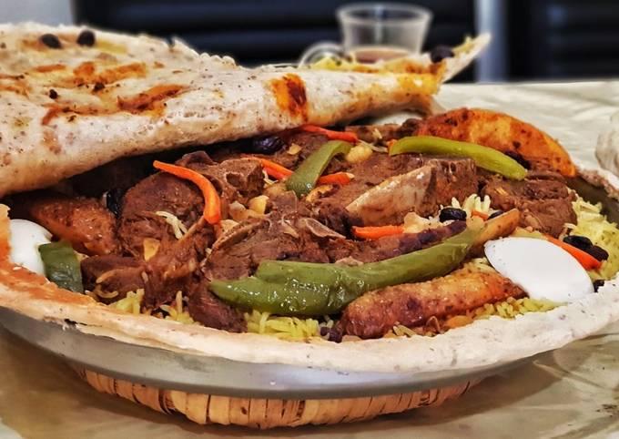 Turkish Mutton Ouzi Rice(chops)