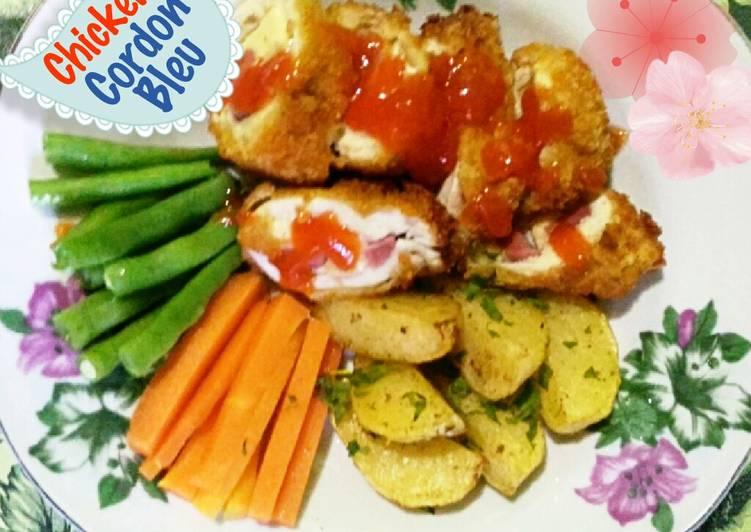 Resep Chicken Cordon Bleu Schnitzel Cordon Bleu Oleh Kiki Cookpad
