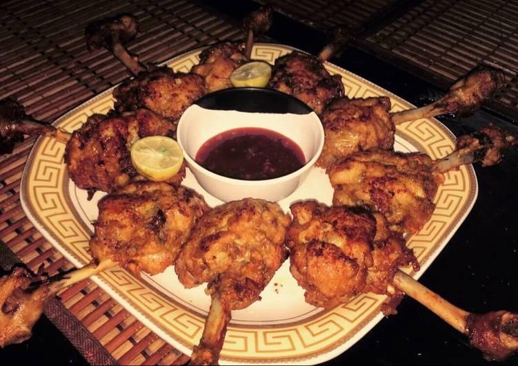 Recipe: Succulent Chinese chicken drumsticks