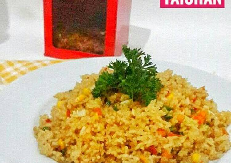 Nasi Goreng bumbu Taichan