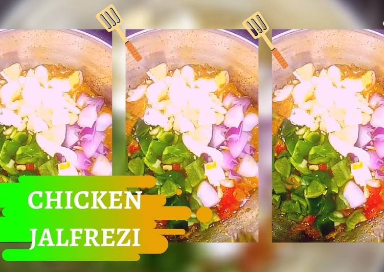 Recipe of Perfect Chicken Jalfrezi