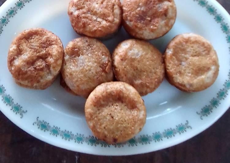 Wingko Dg Sagu n Santan(No Tepung Ketan No Telur No Margarin)