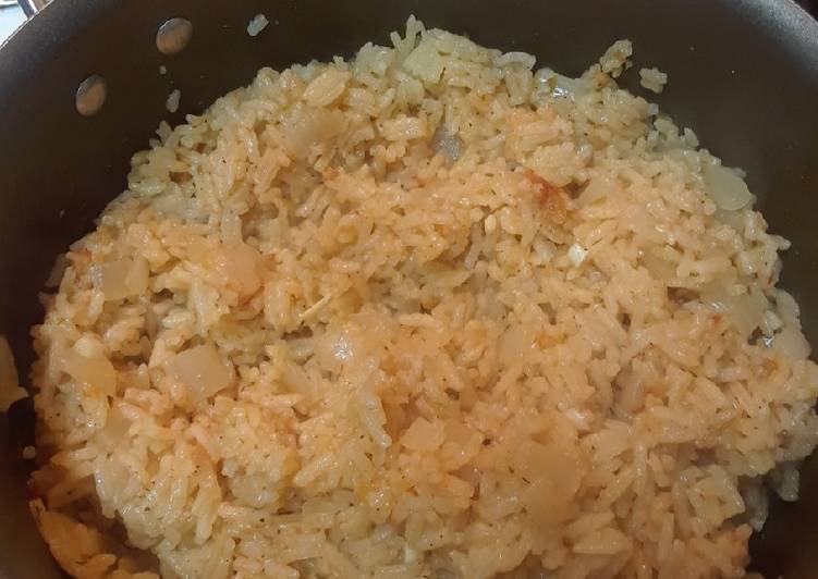 Simple Way to Prepare Any-night-of-the-week Easy Salsa Rice