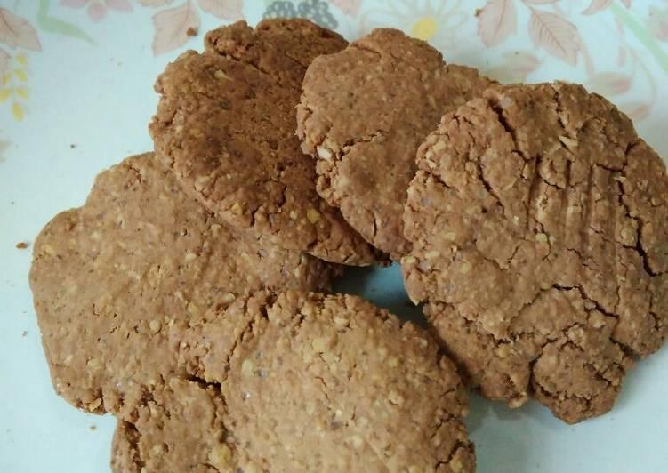 Cara Gampang Membuat Cookies choco (oat dan mocaf) Anti Gagal