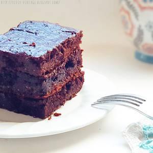 EXQUISITO Y CHOCOLATOSO Brownie vegano (Sin gluten, sin azúcar, sin lactosa, sin grasa) - Lo hacemos en la licuadora o multiprocesadora!