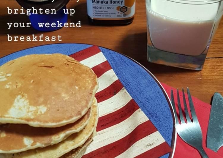 Resep Pancake Paling Gampang