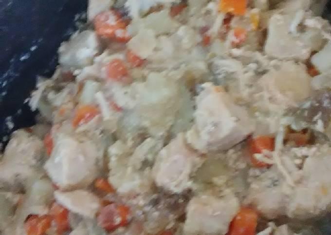 "Recipe of Homemade Paleo Chicken Pot ""pie"""