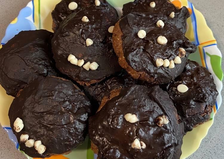 Healthy Chocolate cookies #kids
