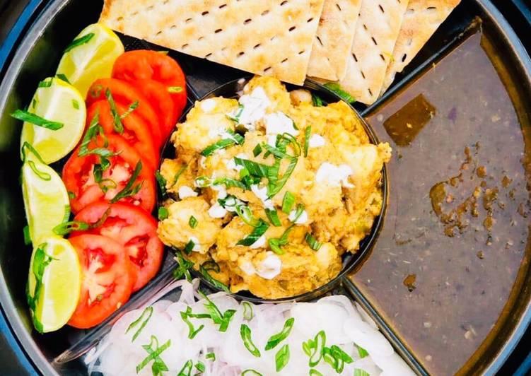 Recipe of Ultimate Malai Boti with sheermaal and chutney