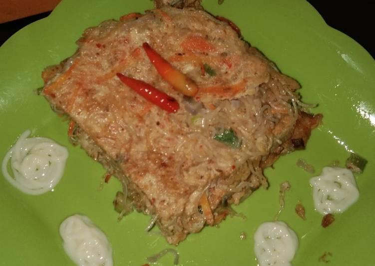 Omelette Bihun