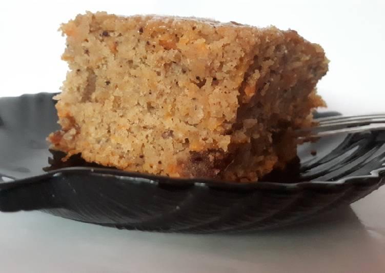 Moist Carrot and dates cake # Mashujaa recipe#