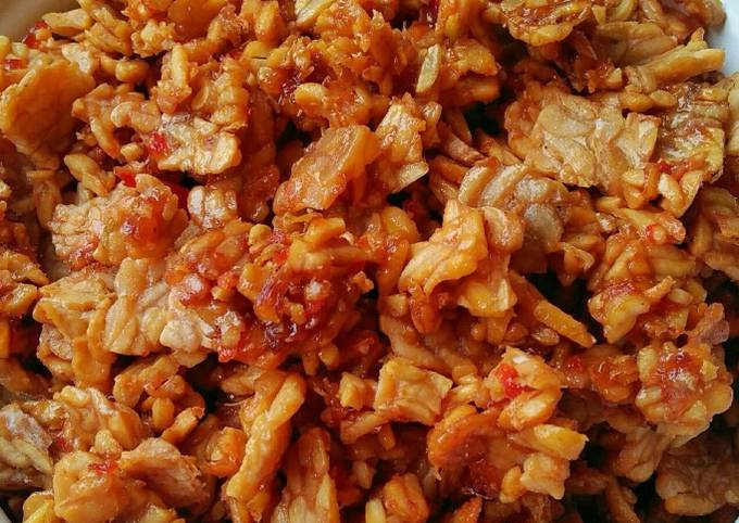 sambal goreng tempe minimalis - resepenakbgt.com