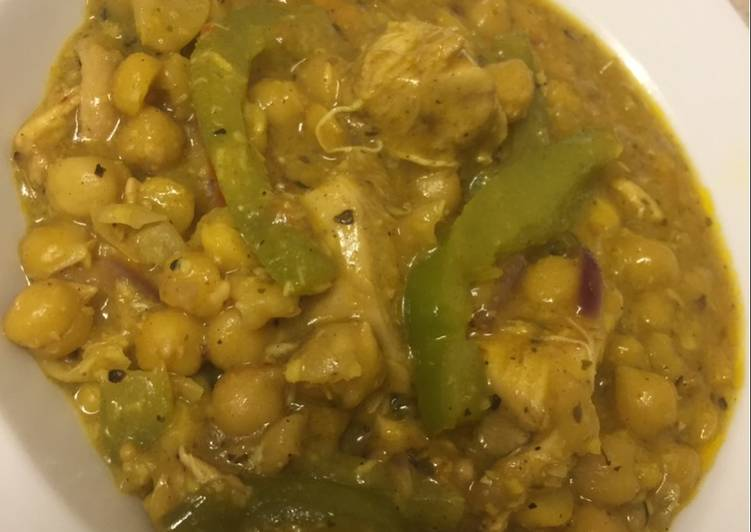 Recipe: Perfect Korma with chickpea sauce