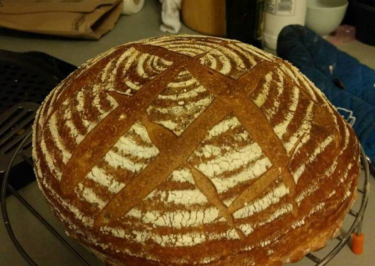 Retarded Spelt Bread (with special kneads)